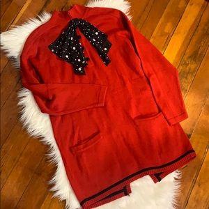 Vintage Louis Feraud sweater dress